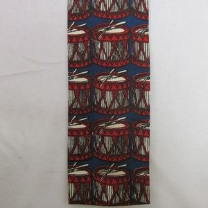 Rooster Flat/Square End Men's Cotton Tie